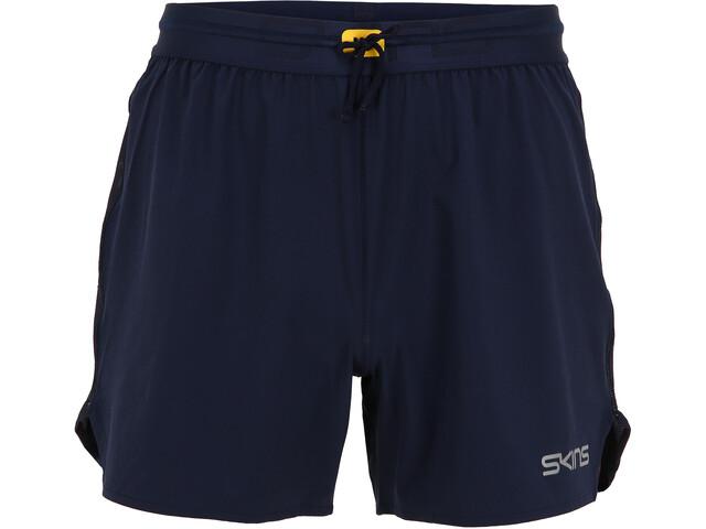 Skins Series-3 Run Shorts Men, bleu